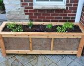 Custom Planter Box