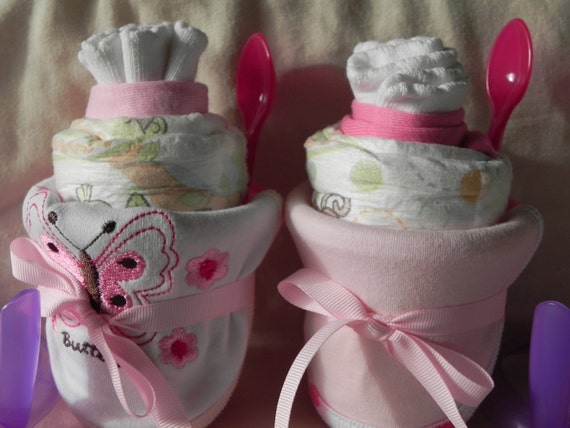 Girl Baby Shower Smoothie Gift Set (12 Items)