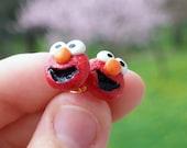 Elmo Stud Earrings