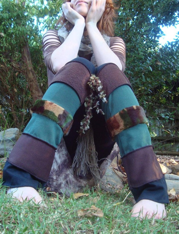 Camouflage Leg Warmers
