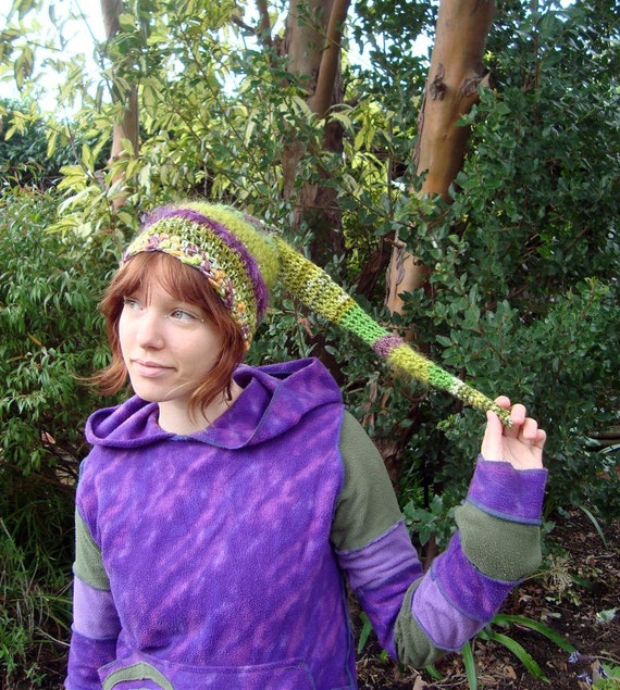 SALE 30% OFF EVERYTHING Green Nature Pixie Beenie