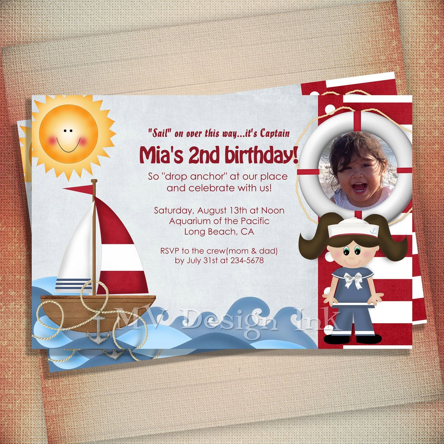 Sailor Baby Shower Invitations was beautiful invitation sample