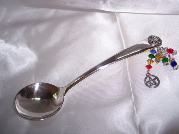 Silver Witch's Spoon - Elemental - No.2806 - S&H Included