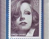 Greta Garbo--Hollywood Screen Legend--Stamp Magnet