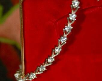 Vintage Avon Rhinestone Bracelet