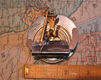 SteamPunk Dial Thingy Invention Industrial altered Art