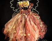 Fairy Dress, tulle dress, Fall Enchanted FairyWare, Dress , Photography, Wedding, Birthday, Halloween, Just for Fun