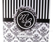 Abigail wedding invitation suite - sample
