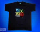 50s, 60s, 70s and 80s, the Pop Culture decades T-shirt