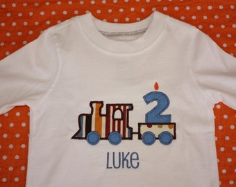 Personalized Birthday Tshirt or Onesie for Boys or Girls