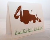 Tractor Stationery Card