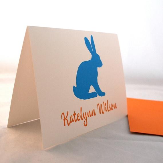 Bunny Stationery for Girls