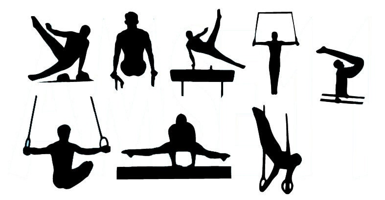 gymnastics clipart parallel bars