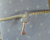925 Sterling Silver Key String Bracelet