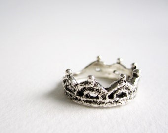 Silver Lace Ring-Style 1