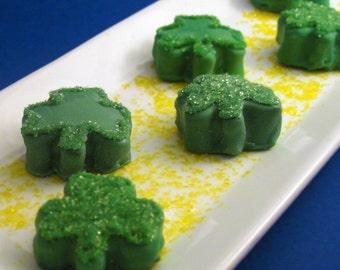 12 St Patrick's Day Cake Balls / 1 Dozen / St Patricks Day/ Chocolate, Coconut, Cake