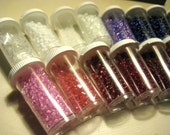 Bead Lot - seed beads, bulk, destash, jewelry making, jewelry supplies, multi colors, pink, white, red, blue, green, purple, AB