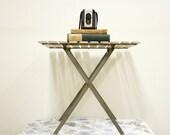 Industrial Vintage Metal Folding Table