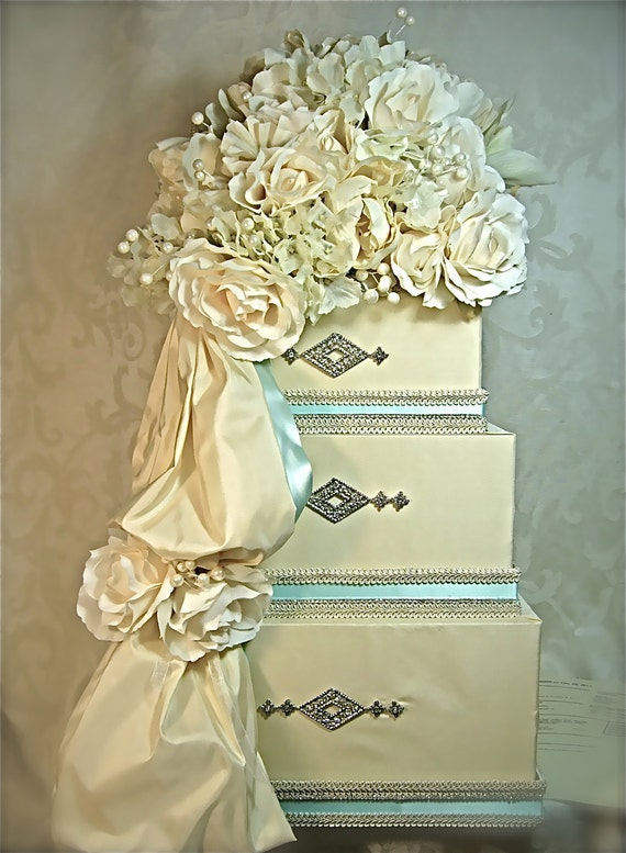 Please Do Not Order - Reserved for Maria W. Wedding Card Box