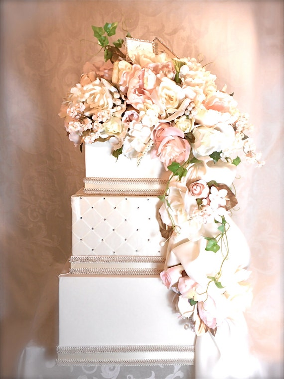 Blush Pink Wedding Card Box