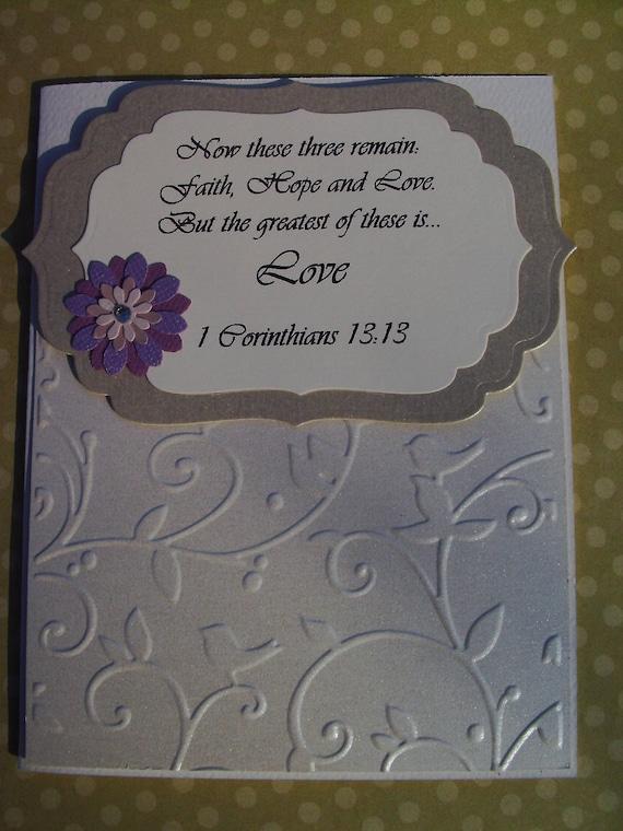 Handmade Anniversary/Wedding Card Set