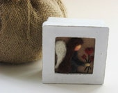 Custom listing for Anna - Mothers Day Gift - Angel Felted Box - Keepsakes Box - Mothers Day