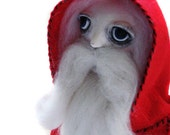 Custom Santa Doll - Companion Doll - Custom OOAK Art