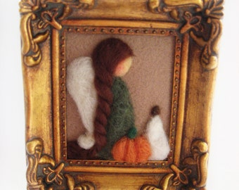 Thanksgiving Decor - Fall Angel - Holiday Decor - Thanksgiving Angel
