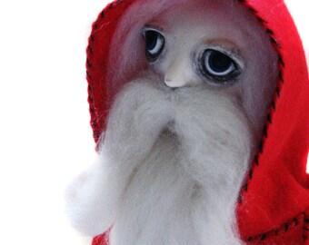 Custom Santa Doll - Companion Doll - Custom OOAK Art