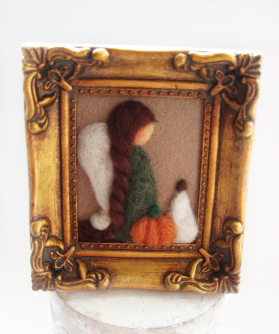 Decorating Ideas > Thanksgiving Decor Fall Angel Holiday By MyriamPowellDesigns ~ 070224_Thanksgiving Decorations On Etsy
