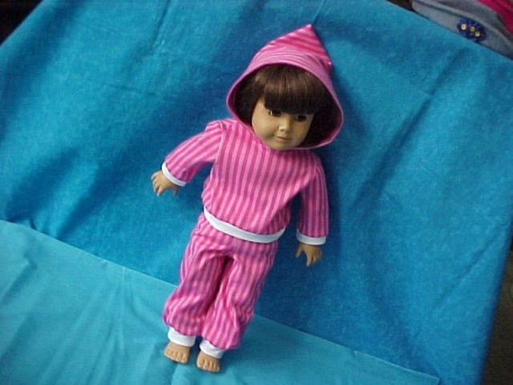 SALE  2 pc. pink striped hoodie outfit.