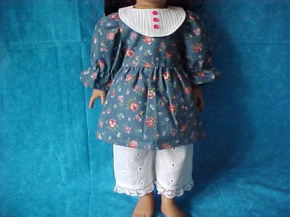 SALE American girl, dress and pantaloons. WAS