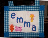 Wall Hanging Under The Sea (3, 4 or 5 Letter Name)