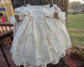 Large Victorian Doll dress purse or Wall Hanging