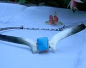 RESERVED  Sterling Turquoise Necklace