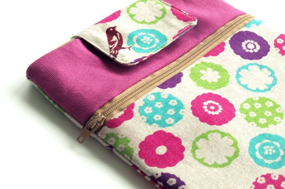 Kindle Touch Case, KoboTouch Sleeve, Nook Simple Touch Case, Pink Kindle cover, graduation gift