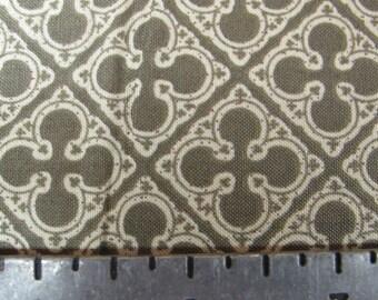Quatrefoils in Lenin Color  Fabric YARD
