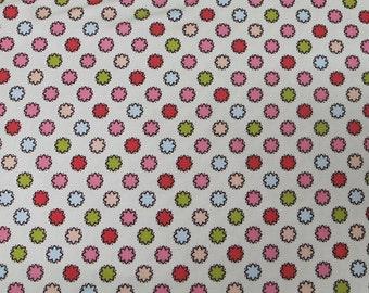 Vintage Dot cotton Fabric YARD