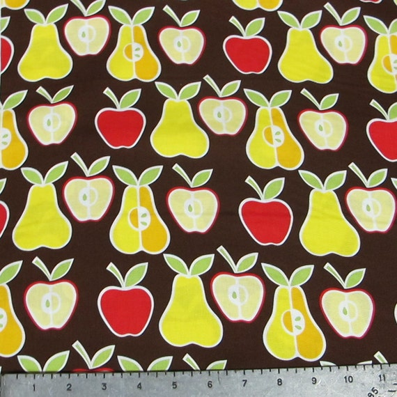 Apples and Pears Fabric YARD