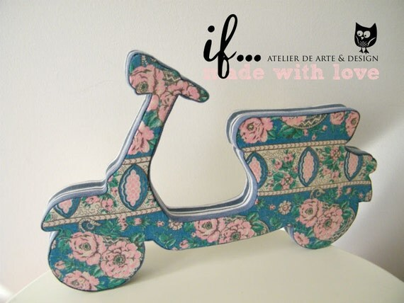 Decorative Fabric Vespa