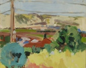 May morning, 2004 - original Galilee landscape painting, Shirley Kanyon - reserved for Mr. S