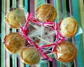 Birthday Pie pops (12), variety of flavors, stand out favor, baby shower treat