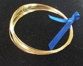 14-karat Gold filled wire- 24 gauge (.5mm)- half-hard-- 15 feet