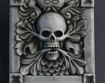Endless Spirit - a gothic wall plaque represents life & death cycles