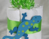Mini diaper cakes lizard, great table decoration