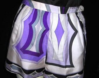 Vintage 60s Emilio Pucci HotPants /Shorts /One Haute Mama