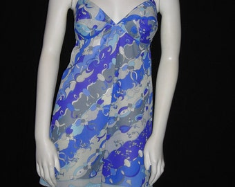 Vintage 60s Pucci Slip Dress - Slip into Something more Pucci