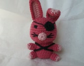Little Pirate Bunny Amigurumi New