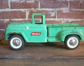 Vintage Green Buddy L Toy Truck