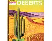 Vintage Science Book Deserts 1970s - ManateesToyBox